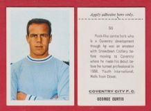 Coventry City George Curtis 50